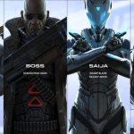персонажи игры Raw Data vr