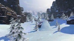 fancy skiing виртуальная реальность