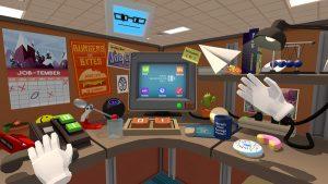 job simulator виртуальная реальность