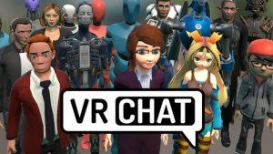 vr chat в виртуальной реальности
