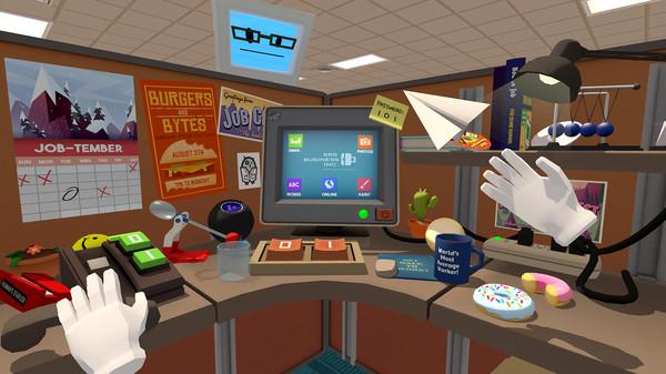 игра job simulator виртуальная реальность